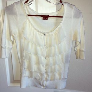 Women's frilly blouse
